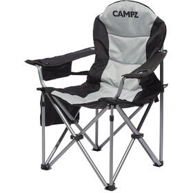 CAMPZ Deluxe Armstoel, black/grey